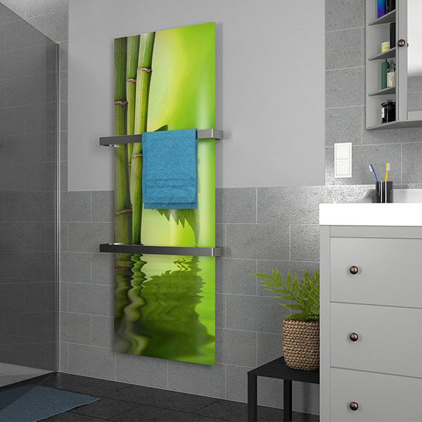 Badezimmerheizung Glasbild 790 Watt