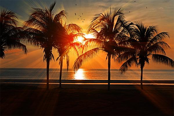 Bildheizung Motiv 009 Sonnenuntergang 2